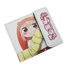 Nouveauté Himouto umaru-chan de 2 style Anime avec bouton portefeuille cadeau court en cuir PU coloré sac à main porte-cartes