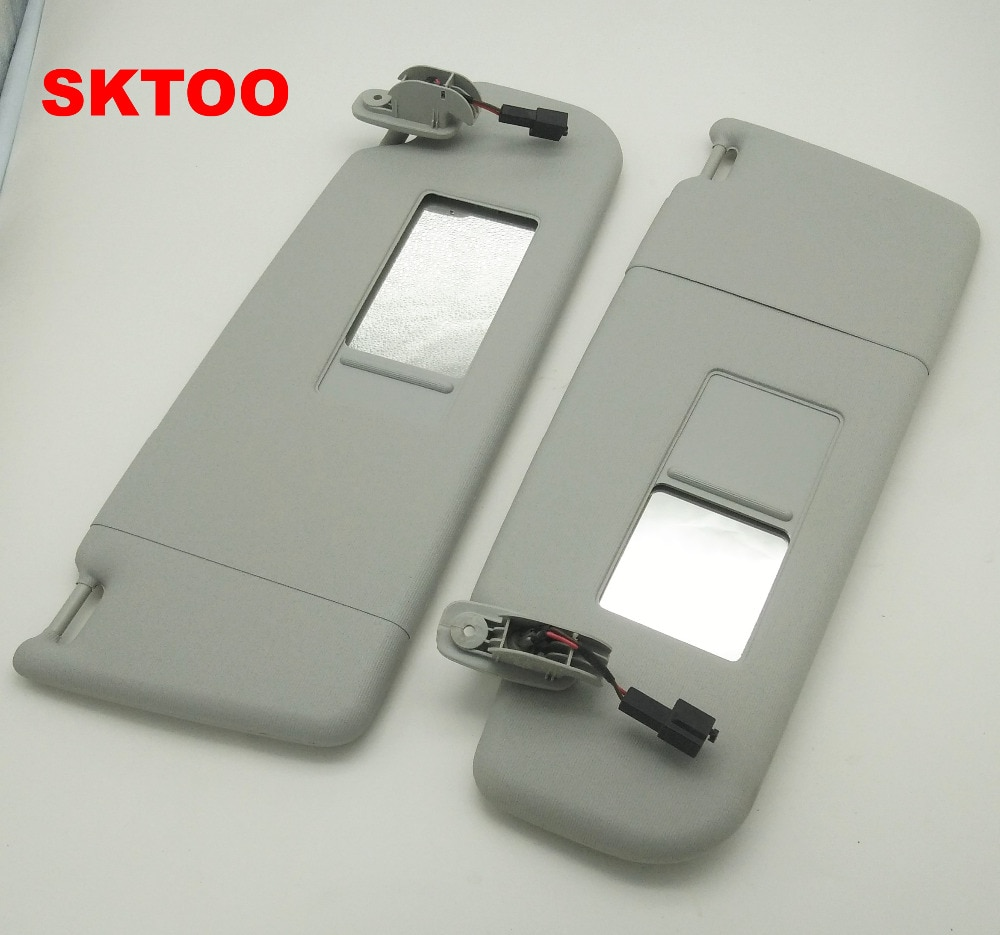 Visera SKTOO con espejo de maquillaje para Volkswagen bora Golf 4 Passat B5 visera con espejo de maquillaje 3B0 857 551