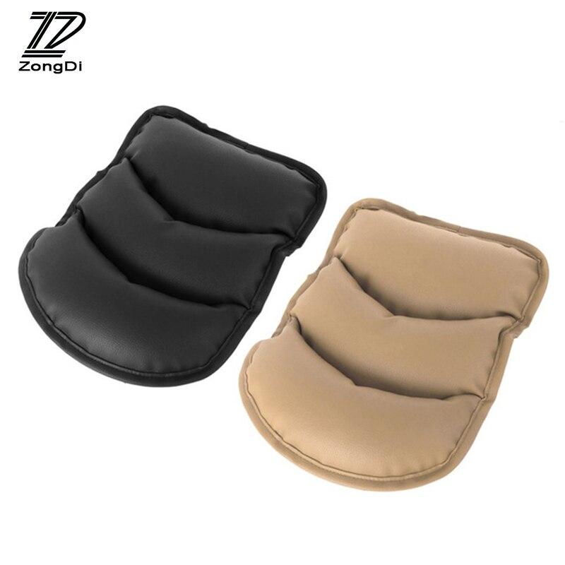 ZD Center Console Car Armrests Cover Pad For Alfa Romeo 159 156 Fiat 500 Citroen C4 C5 C3 Renault Duster Megane 2 Logan Captur