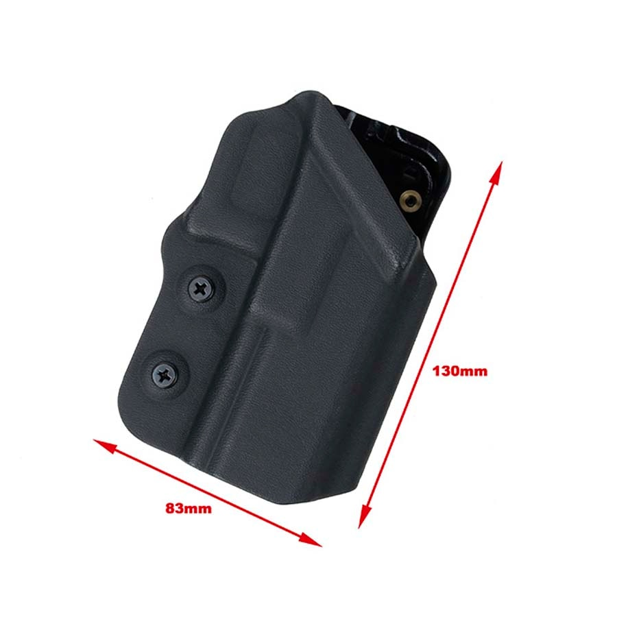 Táctico TMC nueva versión 2018 y el sistema DE cinturón DE montaje 0305 Kydex funda para G17 G18C G19 BK/DE Envío Gratis