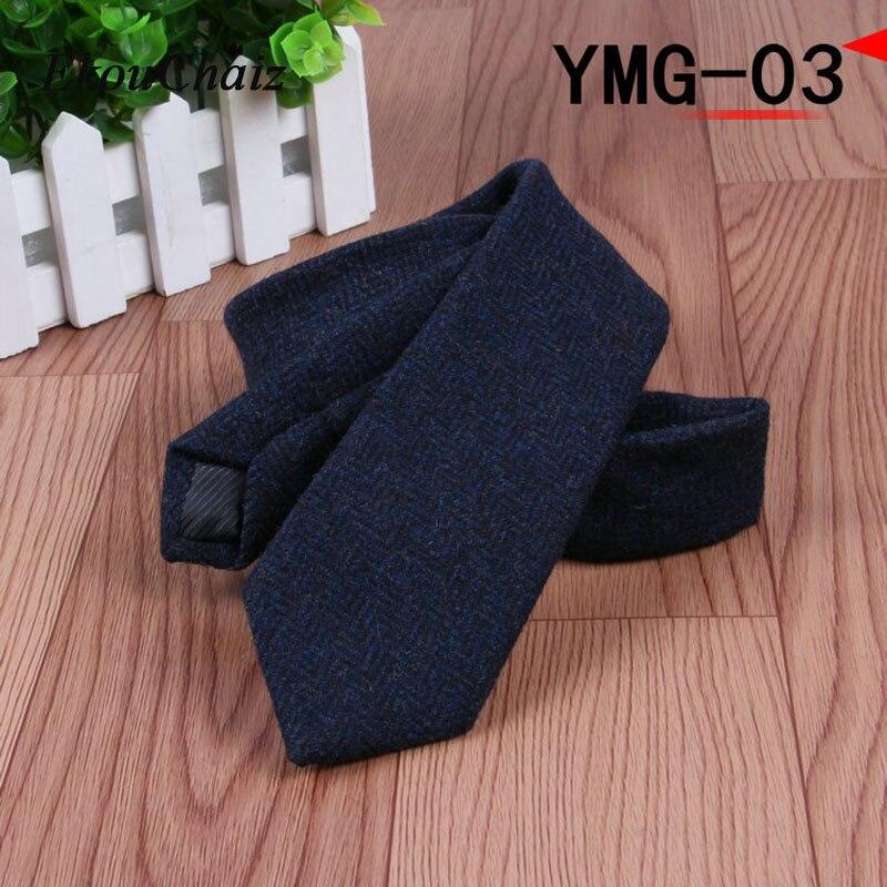 5.5cm Narrow Slim 100% Wool Men Ties High Quality Business Party Official Neckties For Gentleman Fashion Skinny Wedding Gravata