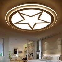 simple modern Children's room led ceiling light little boy girl eye bedroom living room  lamp