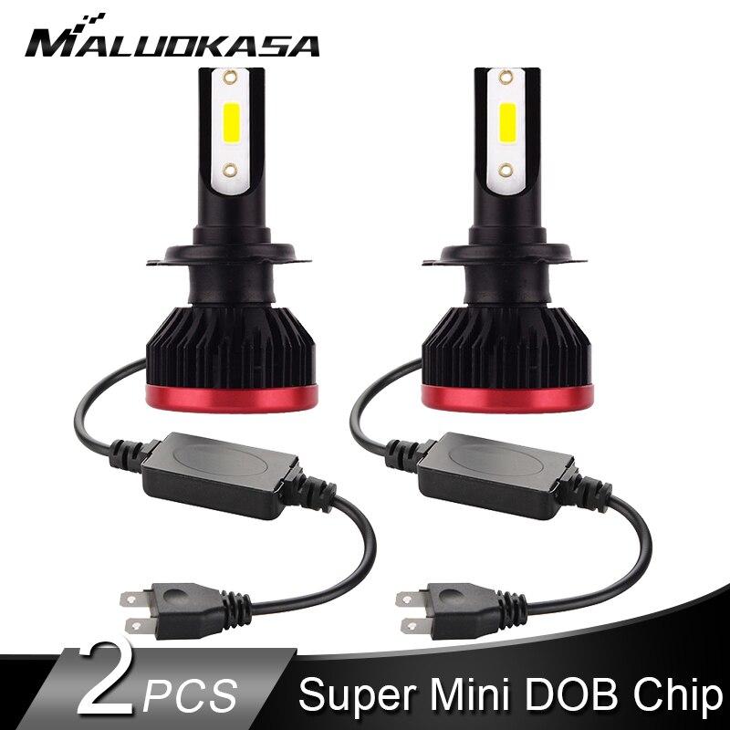 2PCS H7 LED Headlight Bulb DOB Chip 10000LM/Bulb H4 LED H11 H8 HB3 HB4 Car Lights Headlamp Fog Lights 12v 24v Car Accessories