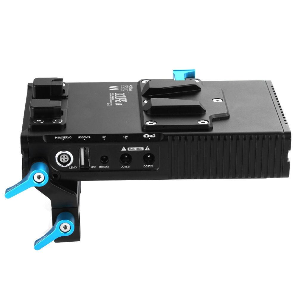 Fotga dp500iii dslr v-mount bp batterie stromversorgung platte für 7d 5dii 5 diii bmcc sony a7 a7s a7rii, 760d