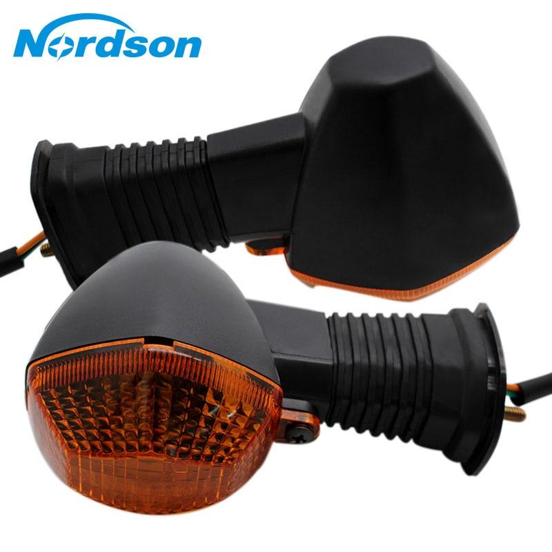 Nordson Motocicleta Vez a Luz Do Sinal Indicador de Aviso De Moto Moto Traseira Lâmpada para Suzuki GSF Bandit GSF 600 650 1200 1250