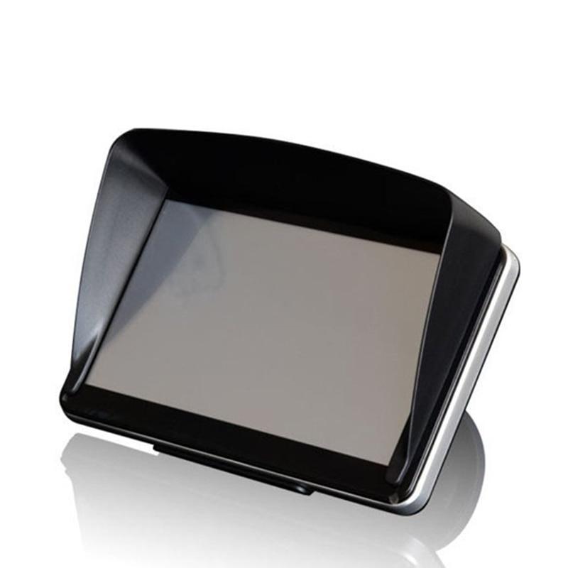 Universal Screen Visor Hood Sun Shade Lens Protector Shield for 5/7inch GPS Navigation TD326