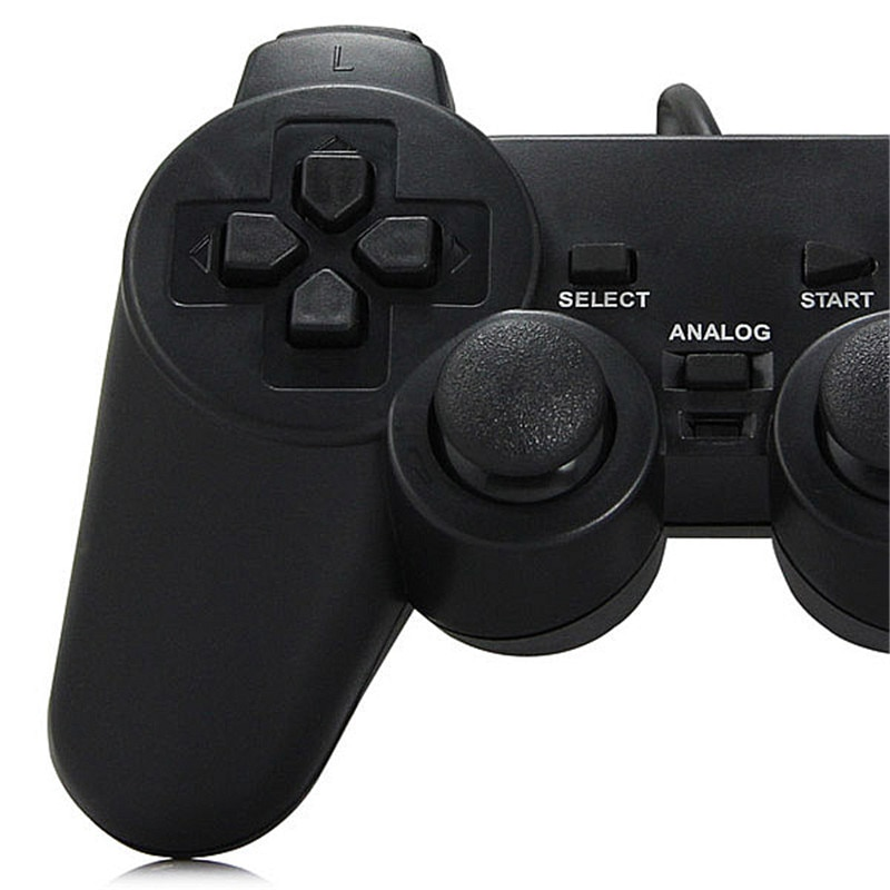 USB Wired PC Game Controller Gamepad Shock Vibration Joystick Game Pad Joypad Control for PC Computer Laptop Gaming Play enlarge