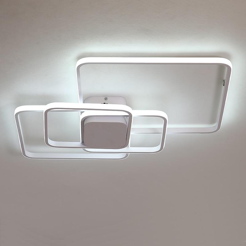 Nueva llegada moderno araña de techo led lámparas para sala de estar dormitorio sala de estudio luminaria iluminación LED de araña Accesorios