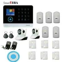 SmartYIBA     systeme de securite a ecran tactile  detecteur de mouvement PIR  clavier magnetique  capteur de porte  application Android IOS  camera IP WIFI