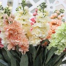 Fausse fleur violette de jacinthe   Fleurs artificielles en soie, fleurs florales pour fête danniversaire Mariage, fleurs ornementales pour la maison
