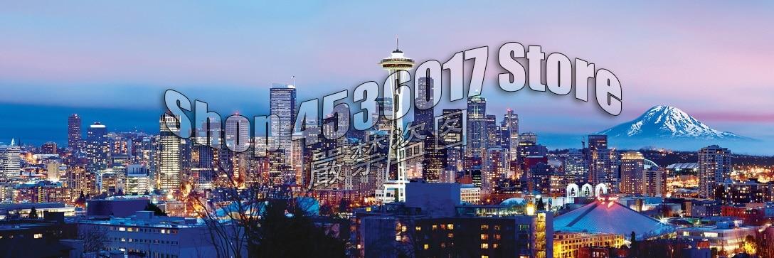 Paisaje Urbano de Seattle, 5d, diamantes de mosaico, pintura Diy, punto de cruz, bordado de diamantes, arquitectura, paisaje, decoración de diamantes de imitación