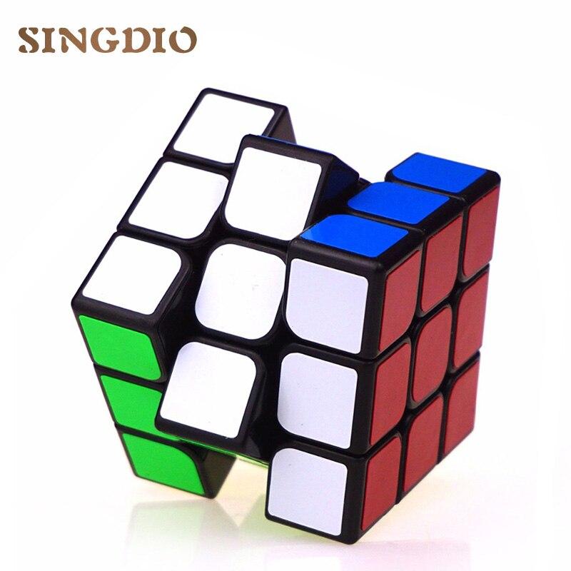 Оригинальные головоломки быстрые магические кубики 3x3x3 ПВХ стикер профессиональные neo cube 3*3 Обучающие Развивающие игрушки