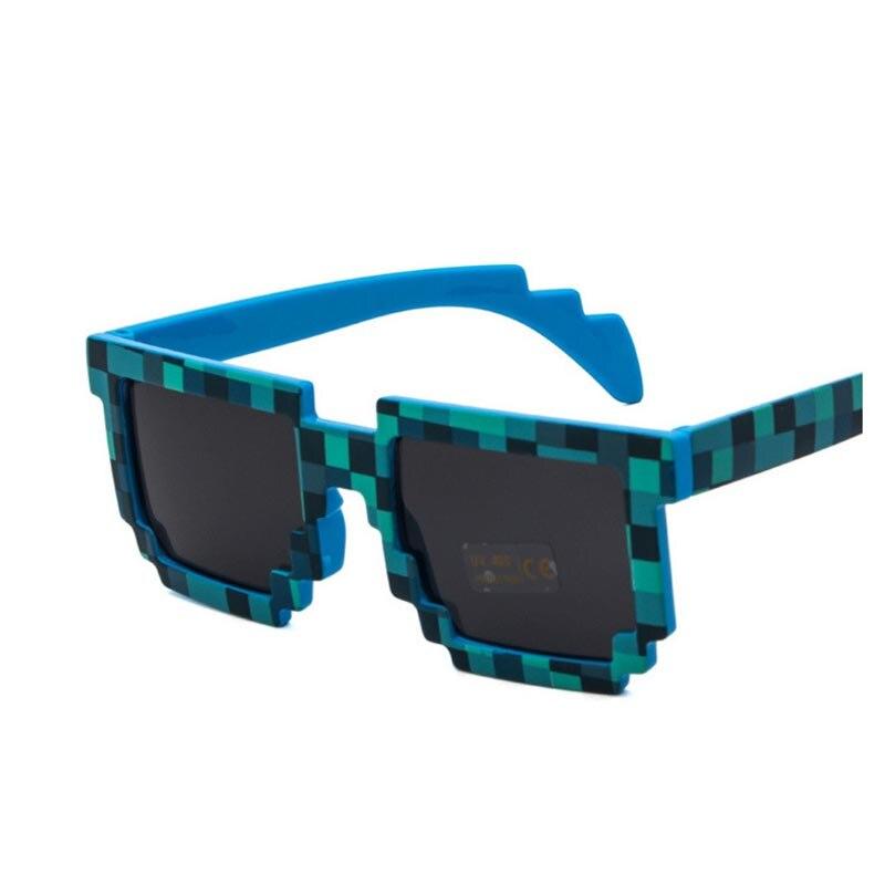 Gafas de sol de moda niños juego de acción juguetes gafas cuadradas regalos juguetes 5 colores