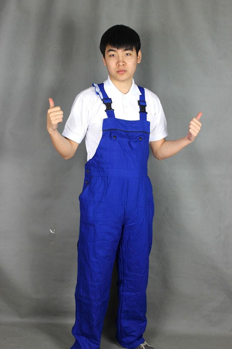 Sinised traksipüksid töötamiseks