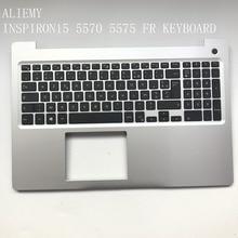 Brand new original laptop FR keyboard for DELL INSPIRON15-5000 5570  5575  palmrest assembly /w  FR