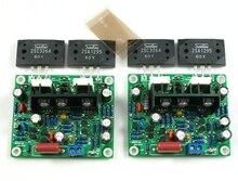 Fannyda 2pcs HiFi MX50 SE 2.0 dual channel 2x 100W Stereo Power amplifier board original new 2SC3264 2SA1295 home amplifiers