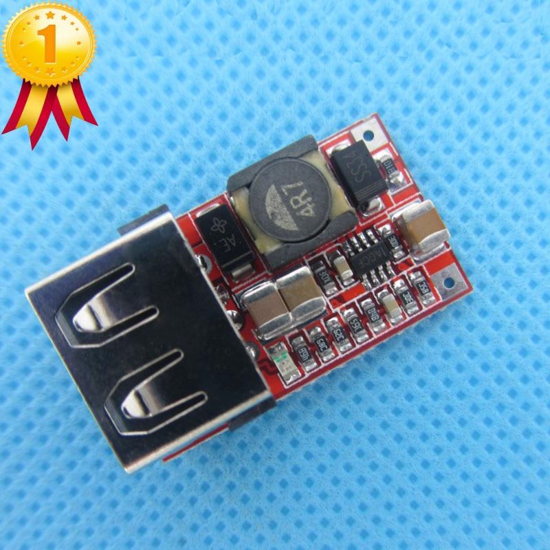 10 pièces/lot 6-24V 24V 12V à 5V USB abaisseur Module convertisseur de DC-DC chargeur de téléphone voiture Module dalimentation efficacité 97.5%