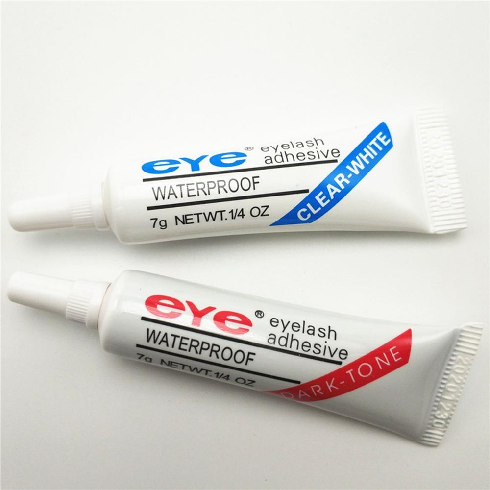 1 pcs duo  Eyelash Glue Clear-white/Dark-black Waterproof False Eyelashes Makeup Adhesive Eye Lash Glue Cosmetic Tools