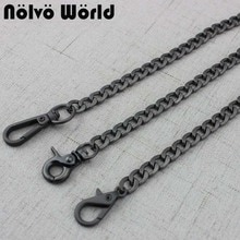 5 pièces métal remplacement chaîne sacs à bandoulière sangles pour sacs à main sac à main poignées croix corps sangle accessoires