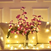 battery powered 20 led willow branch lights tall vase filler simulation orchid branch lights christmas holiday decorative lights