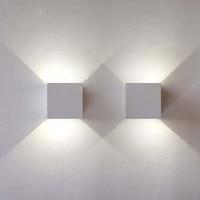 Simple living room TV wall mirror light balcony wall lamp LED waterproof outdoor indoor aisle