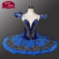 velvet blue bird ballet tutu black swan ballet tutu professional ballet tutu for competition stage performance ld0013