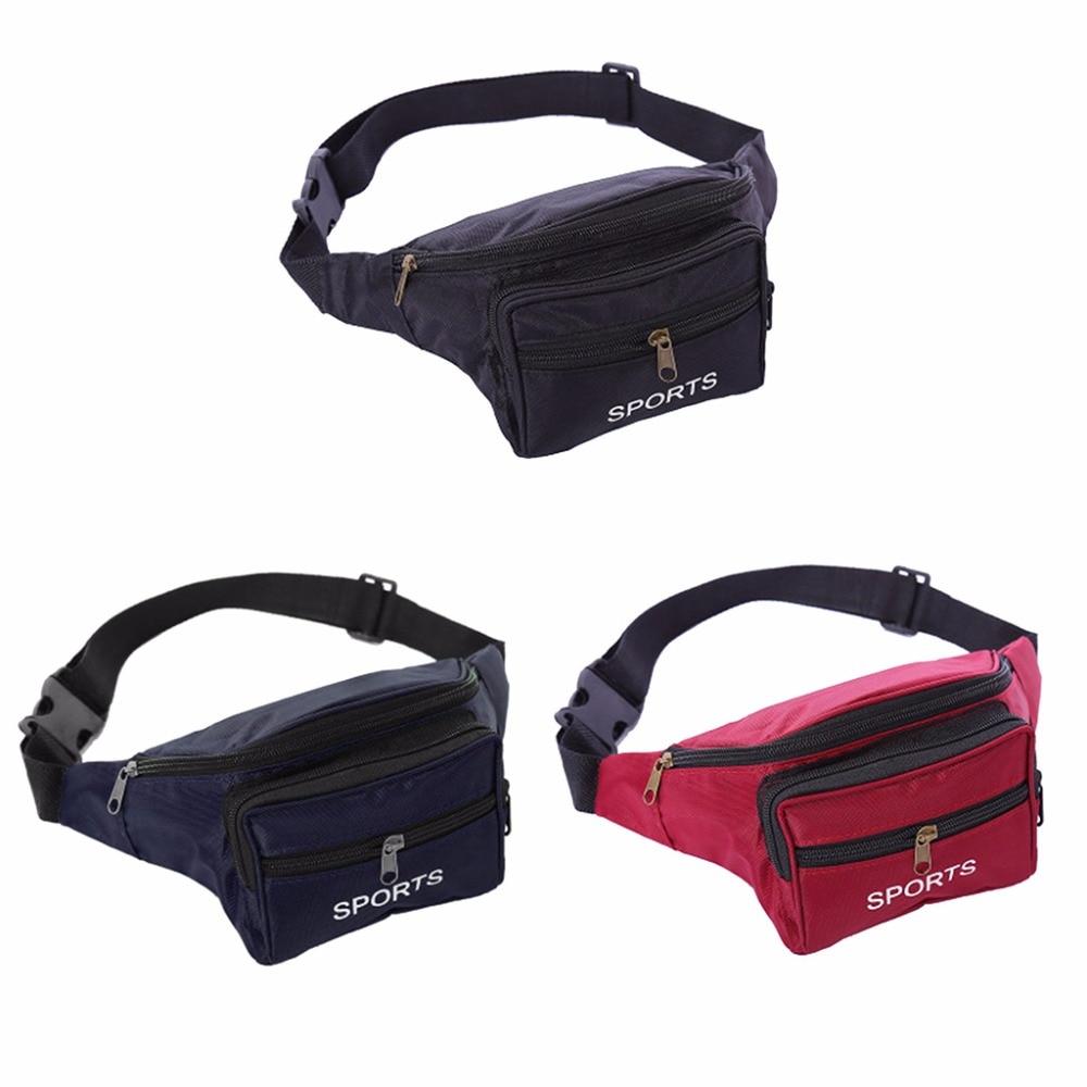 Utility Cycling Waist Fanny Pack Belt Bag Travel Hip Purse Outdoor Sports Bags Running Bags