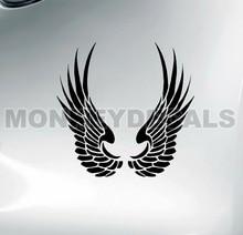XGS DECAL A Pair of Car decal Angel wings 2 15cm x 7.5cm motorcycle car truck ebike vinyl waterproof stickers