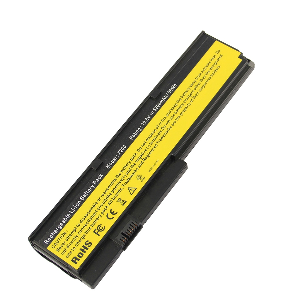 7800mAh ل IBM بطارية كمبيوتر محمول ثينك باد X200 سلسلة X200S X201 X201S 42T4534 42T4535 43R9254 43R9253 42T4536 42T4537 42T45