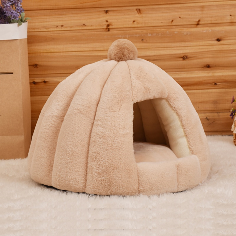 JORMEL redondo cama de perro para perro gato invierno cálido tumbona alfombra cachorro perrera mascota cama lavable