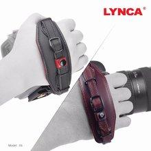 Courroie de poignet pour appareil photo avec plaque de fixation rapide pour Canon Nikon Pentax SLR DSLR noir et marron