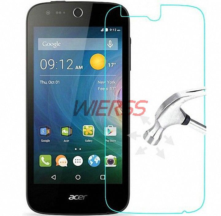 Чехол с защитной пленкой для экрана из закаленного стекла для Acer Liquid Zest X2 Z220 Jade S Z