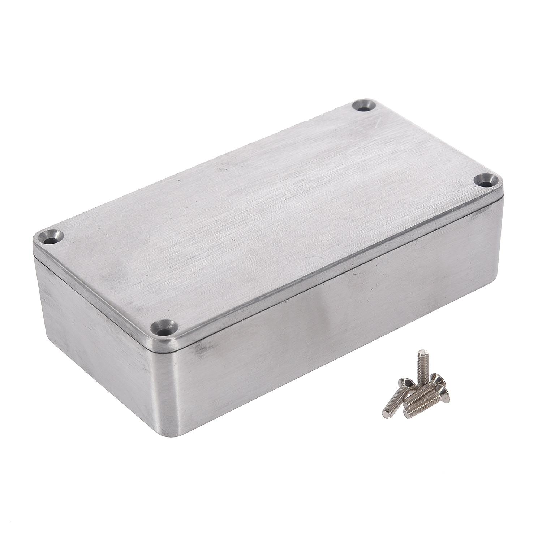 Nueva caja de aluminio fundido a presión para proyectos electrónicos, instrumento impermeable, estándar 1590B 112X60x31mm