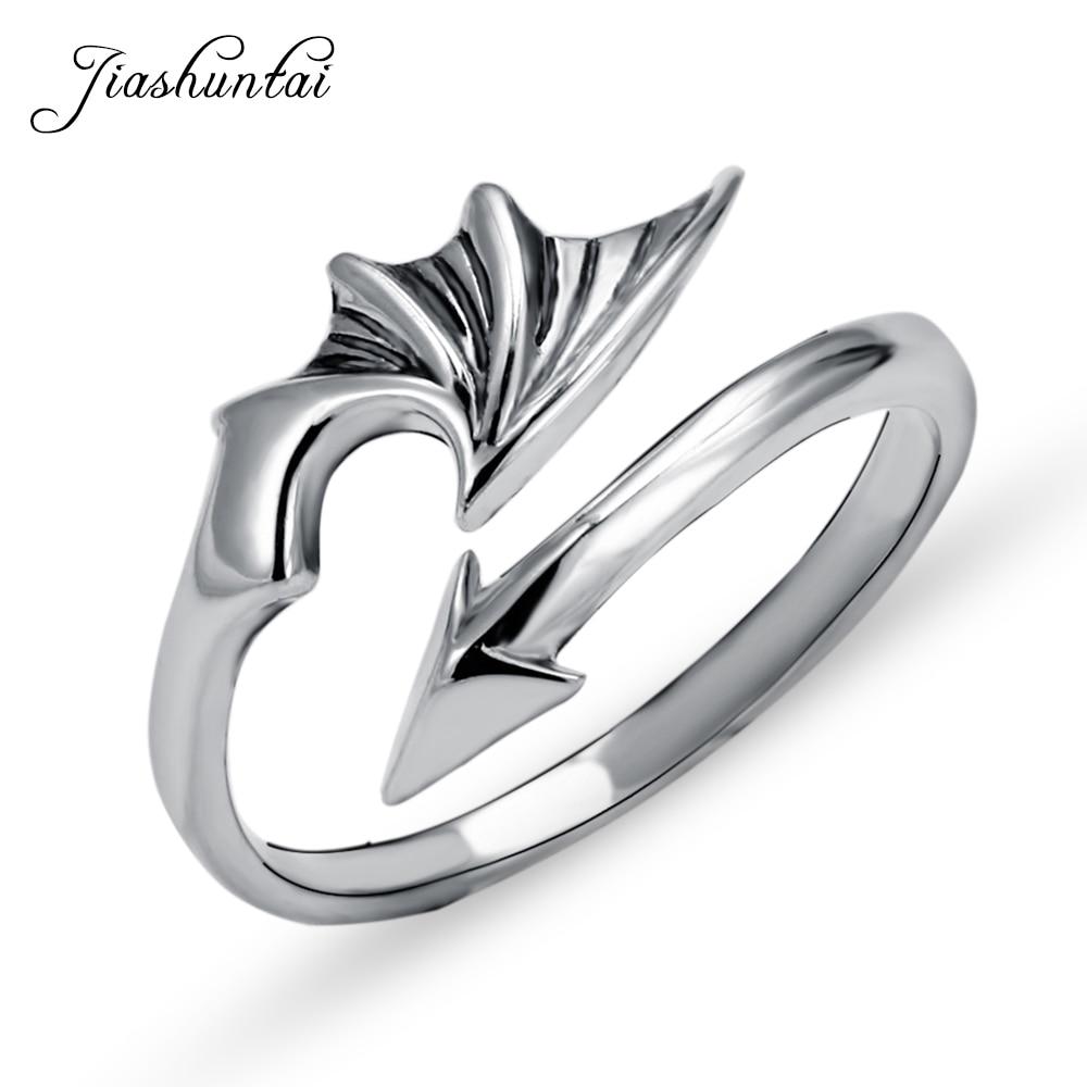 jiashuntai-100-925-пробы-серебряные-кольца-для-женщин-с-крыльями-и-стрелками-дизайн-винтажные-тайские-серебряные-ювелирные-изделия-Открытое-ко