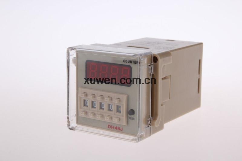 1PC DH48J 220VAC 30 CPS contador digital de relés