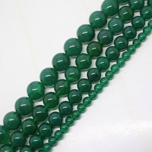 Mini. La commande est de 7 $! 4-14mm Agates vertes Onyx ronde bricolage fa-store entretoise perles en vrac 15