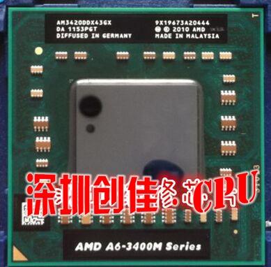Оригинальный процессор AMD A6-3420M AM3420DDX43GX A6 3420M чипсет PGA процессор ноутбук a6 3400m