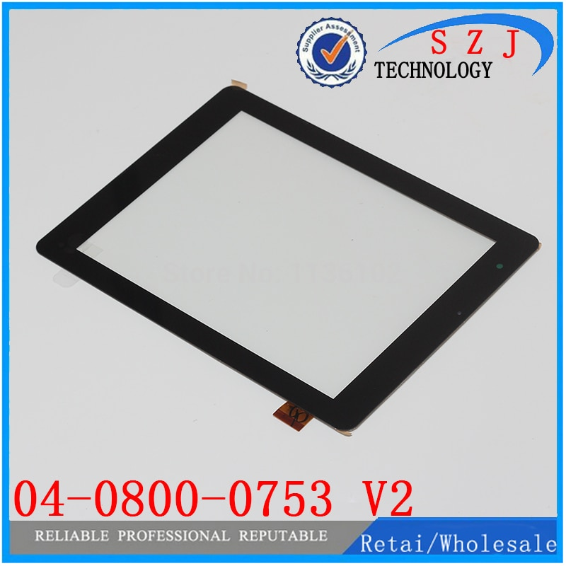New 8'' inch capacitive touch screen 04-0800-0753 V2 handwriting touch screen tablet PC accessories