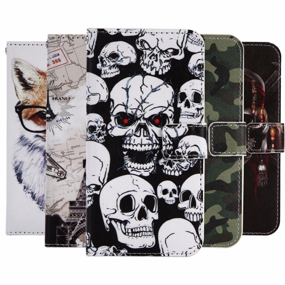 Чехол-бумажник с рисунком енота для Blackview BV7000 Pro 5,0 дюйма, Модный чехол из искусственной кожи для мобильного телефона