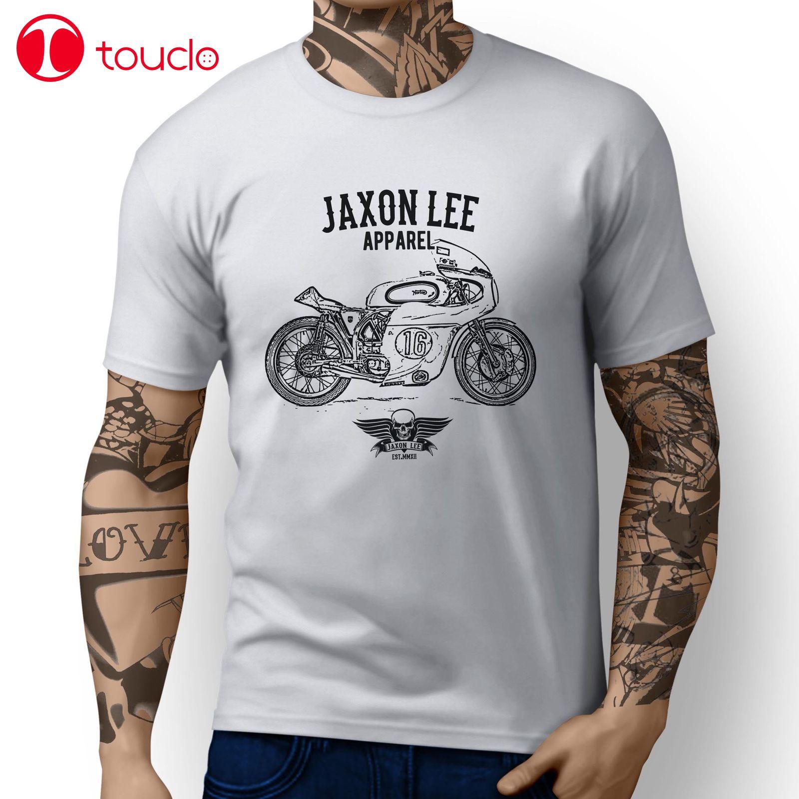 2019 Cool italiano clásico moto Manx inspirado motocicleta arte diseño camiseta sudadera