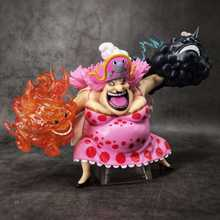 Anime une pièce Charlotte Linlin grande maman figurines GK quatre empereurs modèle jouets 15cm