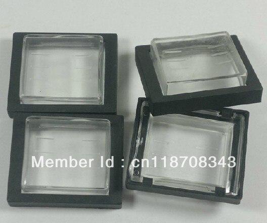 Tapa impermeable transparente para mini interruptor Rocker KCD4, manga de plástico sellada