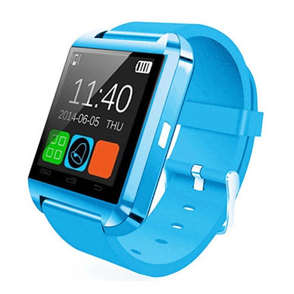 Умные часы U8 с Bluetooth, шагомер, альтиметр, музыкальный плеер, дистанционное управление, фотографии, спортивные часы