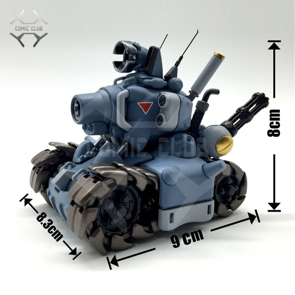 Игровой мини-танк Comic, в наличии, для компьютерных игр, с металлическим 1:35