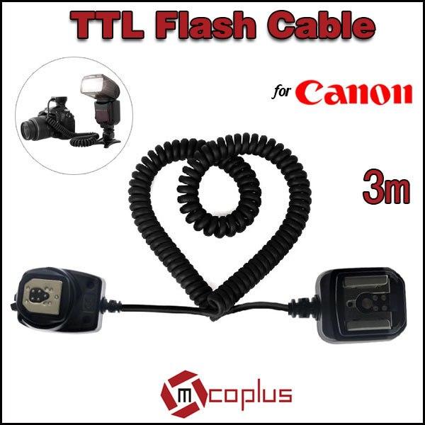 Mcoplus Meike 3 m E-TTL TTL de sincronización del Flash cámara de...