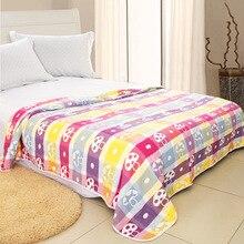 Muslin 6 layers Organic Cotton Soft Baby Bedding Blankets Summer Kids Girls boy Bath Baby Blanket Gauze Bedding Quilt 200*240cm