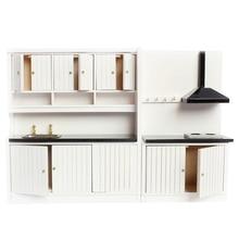 112 puppenhaus Miniatur Möbel Holz Küche Set