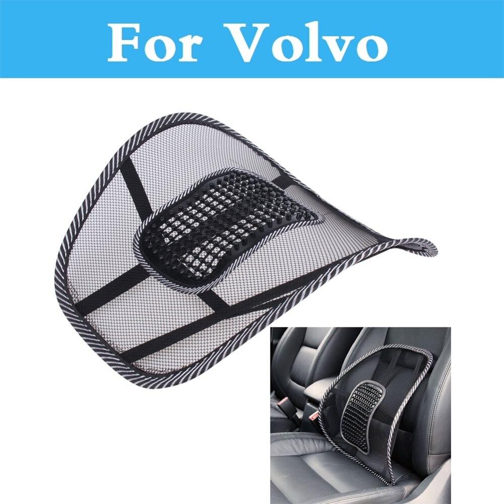 Asiento de coche cojín de cintura espalda almohada para Volvo XC60 XC70 XC90 C30 C70 S40 S60 S80 V40 V50 V60 Cruz país V70