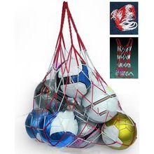 Sac de transport de Football Sports de plein air équipement de corde Portable balles de Football balle de volley-Ball sac de maille peut contenir 10 balles TX005