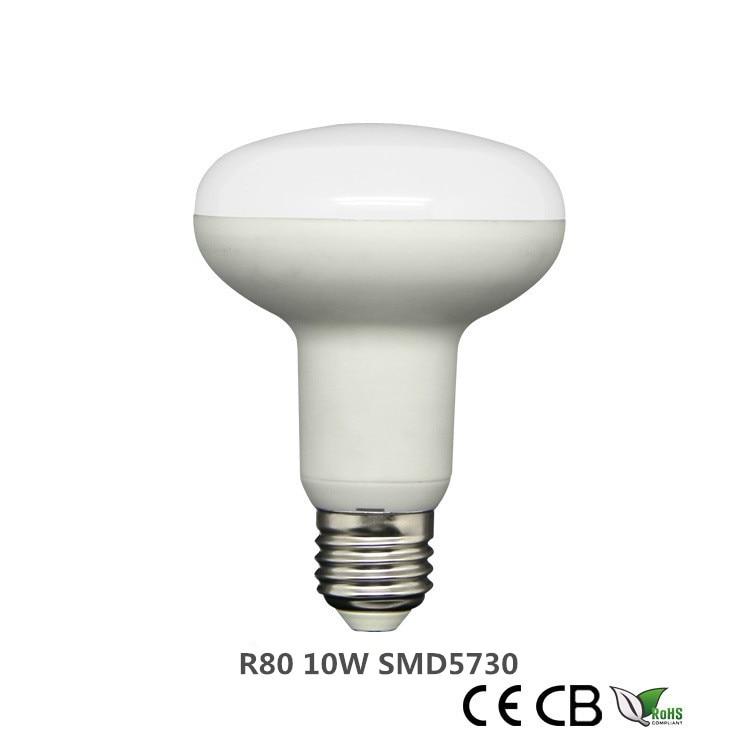 10 teile/los E27 12w R80 led-lampe licht dimmbare Regenschirm LED Birne Cool White/Warm Weiß AC85 ~ 265V SMD5730 LED globe birnen